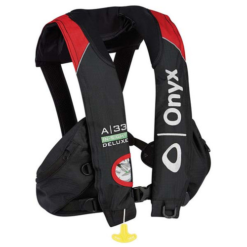 Onyx A-33 In-Sight Deluxe Tournament Inflatable Life Vest