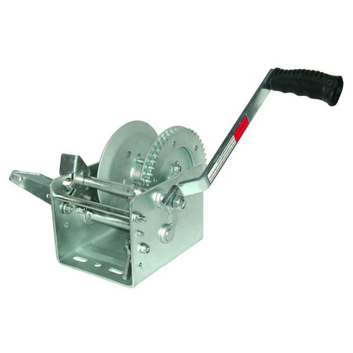 JIF Marine Two-Speed Trailer Winch - 2500 lb