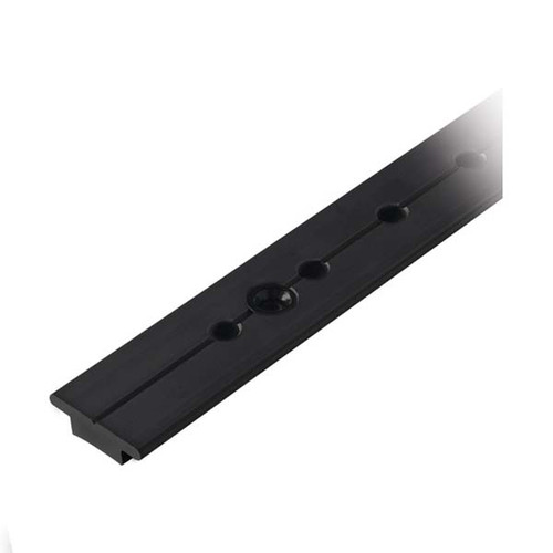 "Ronstan Series 25 T-Track - Racing Track - Black - 25mm(1"") Stop Hole Centers"