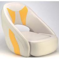 Attwood Fully Upholstered Avenir Sport Seat - Off-White Base Color