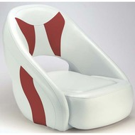 Attwood Fully Upholstered Avenir Sport Seat - Bright White Base Color