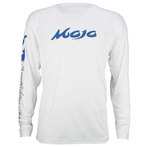 Mojo Wireman Long Sleeve Shirt - White