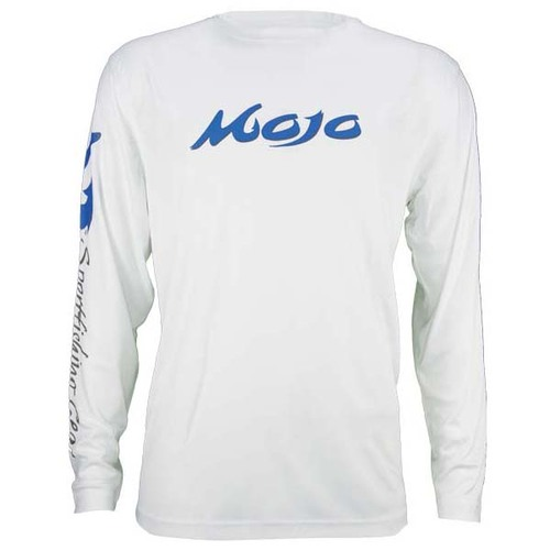 Mojo Wireman Long Sleeve Shirt - White