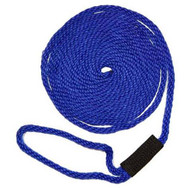 Softlines Boat Mooring Line - Royal Blue