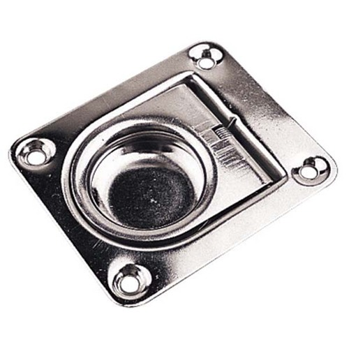 Sea Dog Stainless Steel Spring Loaded Hatch Pull