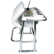Taco Marine Neptune Premium Leaning Post w/ Fiberglass Storage