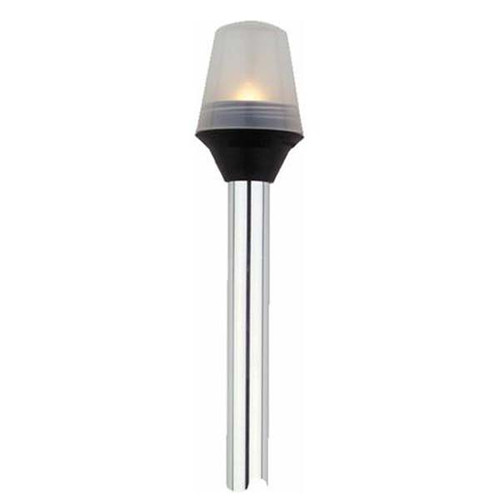 Attwood Marine Frosted Globe All-Round Pole Light - 2-Pin Standard Pole