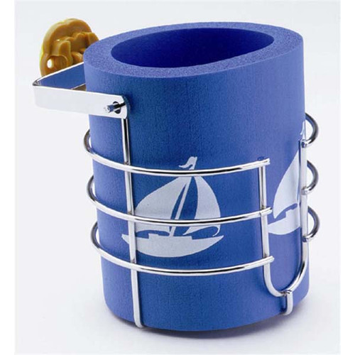 Attwood Gimballed Mug-Sized Drink Holder with Koozie