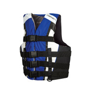 O'Brien Men's 4 Belt Nylon Pro Life Vest - Blue