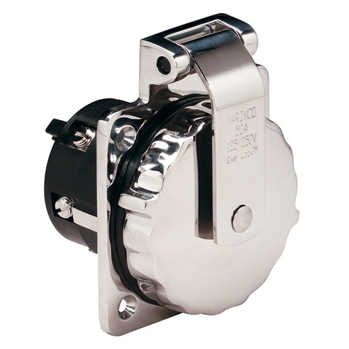 Marinco 50 AMP Easy Lock Power Inlet
