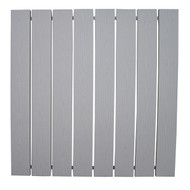Patriot Docks Gray Aluminum 4' x 4' Section