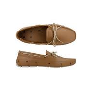 Tucket Giller Mens Boat Shoe - Cognac