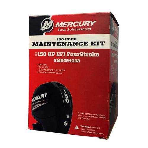 Mercury 100-Hour Maintenance Service Kit - 150 HP EFI FourStroke