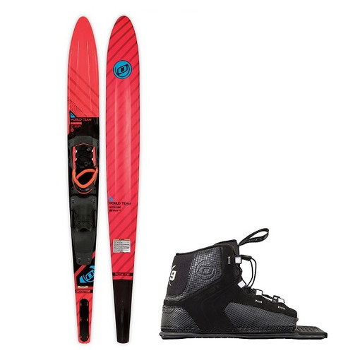 "O'Brien World Team 66"" Skis w/ X-9 Bindings"