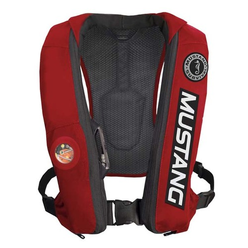 Mustang Survival Elite Inflatable PFD - Bass Competition Edition Front