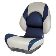 Attwood SAS Centric II Fully Upholstered Seat w/ Lock-Down Button - Tan Base Color