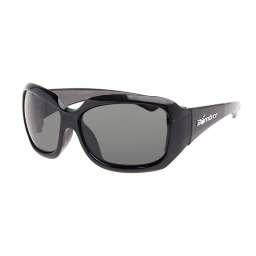 Bomber Sugar Bomb Gloss Black Frame Smoke Lens