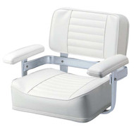 Garelick Heavy Duty Helm Seat White