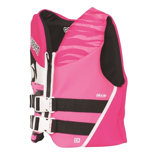O'Brien Youth Pink/Black Life Vest