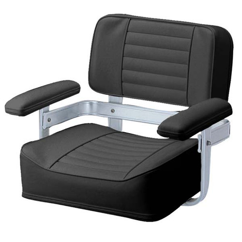 Garelick Heavy Duty Helm Seat Black