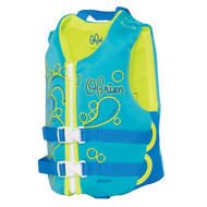 O'Brien Child Aqua/Green Life Vest