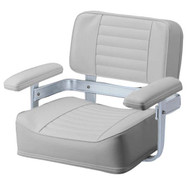 Garelick Heavy Duty Helm Seat Grey