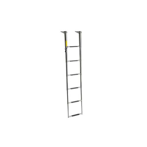 Garelick Over-Platform 6 Step Wide Telescoping Ladder