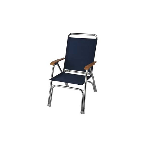 Garelick High Back Deck Chair - Navy