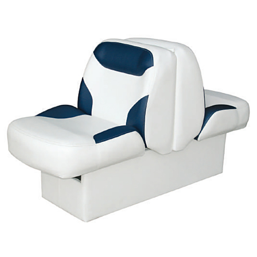 Wise Bayliner Capri Premium Back-To-Back Boat Seat - White/Midnight