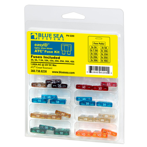 Blue Sea Systems EasyID Fuse Kit