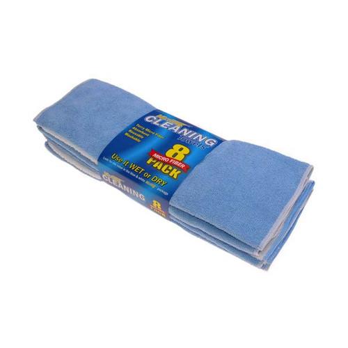 Swobbit Terry Micro Fiber Towels - 8 Pk