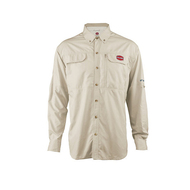 Penn Vented Performance Shirt - Tan Front