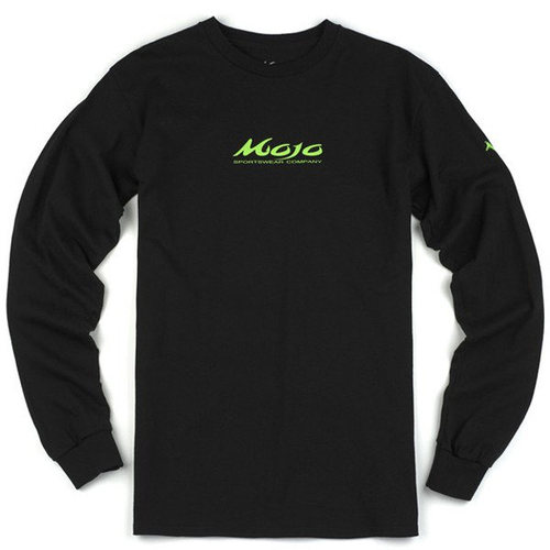 Mojo Neon Dolphin Long Sleeve Shirt Front
