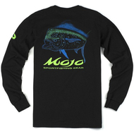 Mojo Neon Dolphin Long Sleeve Shirt Back