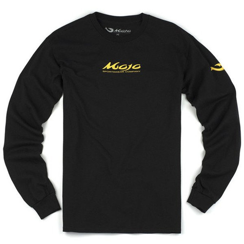 Mojo Neon Redfish Long Sleeve Shirt Front