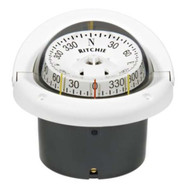 Ritchie Helmsman White Flush Mount CombiDial Compass
