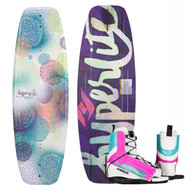 Hyperlite 53630464 Divine Jr Wakeboard w/ Remix Girls Boots