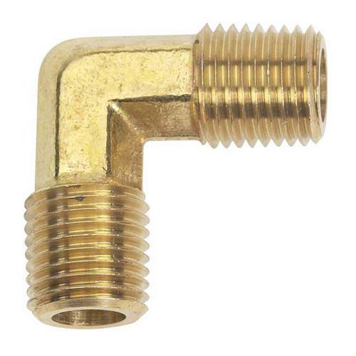 """Moeller 033438-10 Brass Fuel Elbow 1/4"""" NPT"""