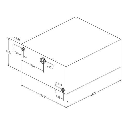 Moeller 040230 30 Gallon Water Tank