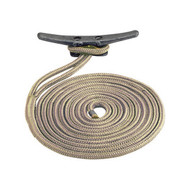Sea Dog 302110010G/W Braided Nylon Dock Line