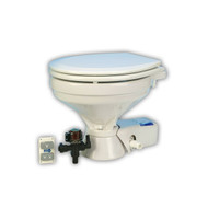 Jabsco 37045-0092 Quiet Flush Compact Electric Toilet
