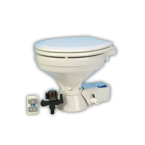 Jabsco 37045-1092 Quiet Flush Standard Electric Toilet
