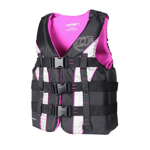 O'Brien 2171707 Teen Purple Nylon Vest
