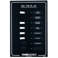 Paneltronics Standard AC 6 Position Breaker Panel & Main w\/LEDs