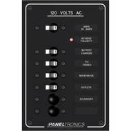 Paneltronics Standard AC 6 Position Breaker Panel & Main