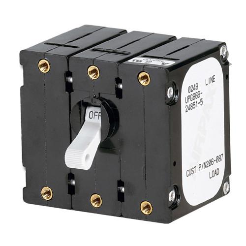 Paneltronics Breaker 50 Amps w\/Reverse Polarity Trip Coil - White