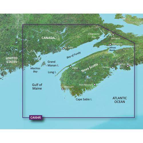 Garmin BlueChart g2 Vision HD - VCA004R - Bay of Fundy - microSD\/SD