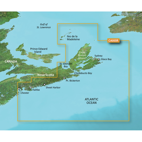 Garmin BlueChart g2 Vision HD - VCA005R - Halifax - Cape Breton - microSD\/SD