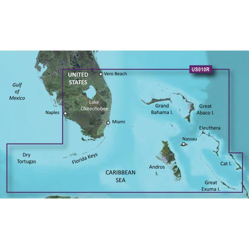 Garmin BlueChart g2 Vision HD - VUS010R - Southeast Florida - microSD\/SD