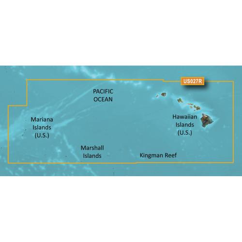 Garmin BlueChart g2 Vision HD - VUS027R - Hawaiian Islands - Mariana Islands - microSD\/SD